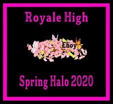 ROBLOX ROYALE HIGH - SPRING HALO 2020 RH, DIAMONDS **READ DESCRIPTION**