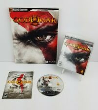 God of War III (Sony PlayStation 3 PS3 2010) Complete Game w/Strategy Guide NICE