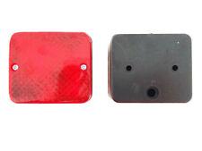 2x Nebelschlußleuchte 85x75x57 Nebellicht Anhänger PKW LKW Trailer Nebelleuchte