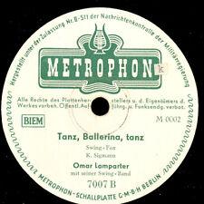OMAR LAMPARTER & SWING BAND Tanz, Ballerina, tanz / GLORIA ASTOR & BUSCH   S9327