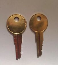 2 Replacement Office Furniture Keys for Codes DF1 to DF61 Key