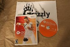 USED EA Sports Active Personal Trainer Wii (NTSC) TESTED and WORKING!!