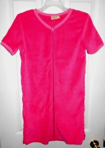 NWT - Women's Bright Pink Super Soft Bathrobe/Swimsuit Cover-Up   size Small