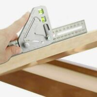 Multifunktionale Holzbearbeitung Dreieck Lineal Winkel Lineal Heiß Revoluti O7Y5