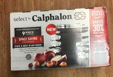 Calphalon 9 piece Cookware Set Hard-Anodized Nonstick Brand New Ships Free