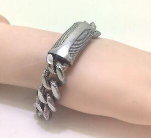 "Mens Police Stainless Steel Bracelet Large, 9""/23cm RRP £55"