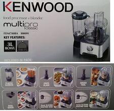 KENWOOD Multipro Classic TRITATUTTO + FRULLATORE 1000W 8 velocità FDM780BA-3L