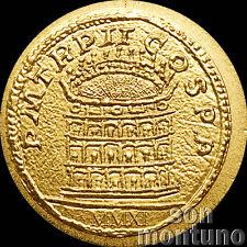 2011 Palau - ROMAN EMPIRE SERIES #13 Colosseum - Half Gram 24k Gold Coin + COA