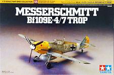Tamiya 60755 Messerschmitt Bf109 E-4/7 Trop 1/72 Kit