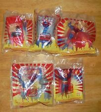 DC Comics Superman Animated Series Action Figure Burger King Kids Toy Set 1997