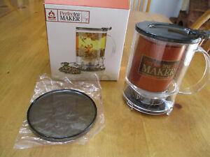 New Teavana Perfect Tea Maker,16 FL oz/473 ML,Hot Or Ice Tea,Brews 2 Cups
