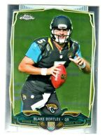 2014 Topps Chrome MINI PARALLEL 187 BLAKE BORTLES RC Rookie Jacksonville Jaguars