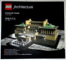 Lego Architecture Bauanleitung für Imperial Hotel 21017 Neu