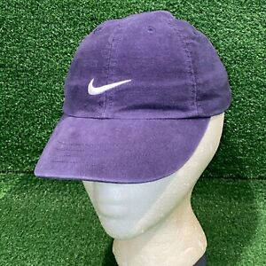 Y2K Nike Toddlers Navy Blue Strapback Hat Embroidered Swoosh Cap