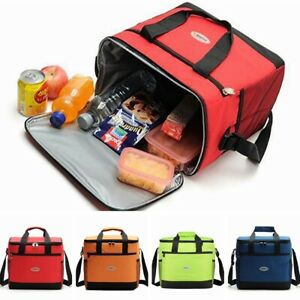 Large Insulated Cooler Cool Bag Outdoor Camping Picnic Lunch Shoulder Tote NEW