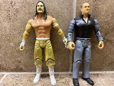 🔥LOT OF 2 Jakks Pacific Sabu & Paul Heyman ECW WWE Figures BEST DEAL!🔥