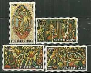 GUINEA C96-99 MNH MANKINDS HOPE FOR THE FUTURE