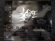 2000 UPPER DECK SPX NFL FOOTBALL HOBBY BOX 18 PACK BRADY ROOKIE AUTO SEALED NEW