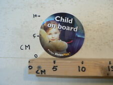 STICKER,DECAL CHILD ON BOARD PHILIPS VISION PLUS CAR HEADLIGHT ? A