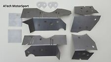 BMW E46 Chassis Subframe Floor Reinforcement Plate Kit M3 330 320 325 318