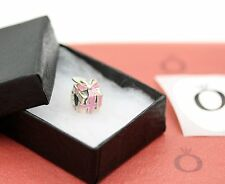 Genuine Pandora Sterling Silver Wrapped With Love Bead 791132EN24 with Box Shown