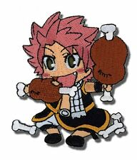 *NEW* Fairy Tail: Natsu Eating Patch by GE Animation