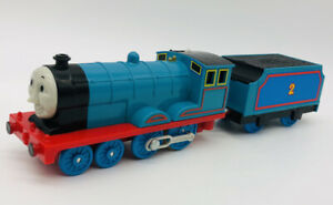 EUC EDWARD Motorized Train TOMY Trackmaster Thomas the Tank Engine & Friends