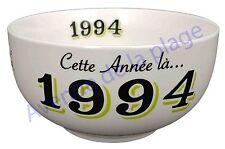 Bol année de naissance 1994 en grès - idée cadeau anniversaire neuf