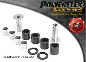PF79-102SBLK Powerflex Black TVR Griffith All Front Wishbone Bushes Special