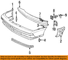 Chevrolet GM OEM 88-90 Cavalier Front Bumper-Bumper Cover Support Left 22532553
