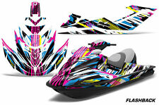 AMR Racing Jet Ski Graphics Wrap Sea Doo RXT Decal Kit 2005-2009 FLASHBACK