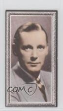 1936 Godfrey Phillips Stars of the Screen Tobacco Base #28 Herbert Marshall 0iu