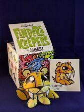 Kidrobot Joe Ledbetter JLED Finders Keepers Cutter Vinyl Figure New