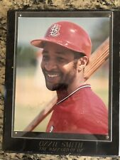 Ozzie Smith-Autographed 8x10 Photo St. Louis Cardinals Hall Of Famer Wiz Of Oz