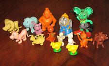 Spielzeug - 15 Tierfiguren - Rarität, Sammlerstück - mindestens 30 Jahre alt