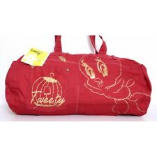 Borsa in jeans Tweety looney Tunes - Rosso - 4029