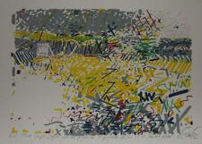 Gerard LE CLOAREC- Lithographie originale signée- La barrière