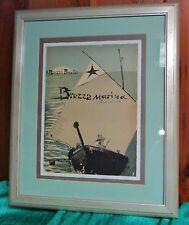 Original Artwork for Poster MANUEL ORAZI Brezza Marina Barcarola Italy C1920s