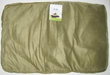 PET DREAMS ORTHO-BLISS MEMORY FOAM PET BED Large Sage Green Dog Cat