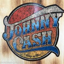 Johnny Cash Kult oldschool Aufkleber Ring of Fire Rockabilly Rock'n Roll Carter