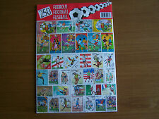 250 DIFFERENT FOOTBALL; THEME,EXCELLENT PACKET.