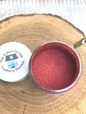 Mica Powder 1 oz Jar Cranberry Shimmer for Epoxy Resin, Cosmetics, Soap