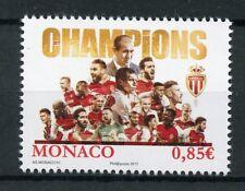 Monaco 2017 MNH AS Monaco Champions 1v Set Football Soccer Sports Stamps