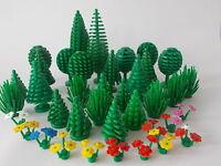Lego Tree / Cypress / Fruit / Bush / Flower /  Palm / Tree Packs