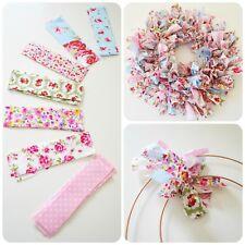 Make Your Own Handmade Easter Shabby Chic Rag Wreath