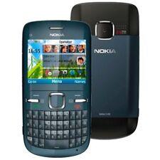 Original Nokia C3-00 C3 QWERT Keyboard Email Camera FM MP3 MP4 2.4 inch Screen