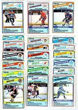 1X TEAM LEADER 1984 85 opc FULL SET O Pee Chee Lots Available GRETZKY LAFLEUR