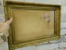 "REALLY OLD picture frame antique fits a 16 inch  X 10 "" painting"