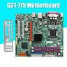 For Intel G31 LGA 775 Socket DDR2 MicroATX Desktop Motherboard 4GB Mainboard