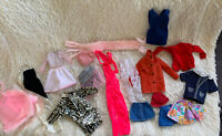 """Lot of VTG BARBIE Doll Clothes Outfits Wardrobe & 12"""" Same Size Doll Clothes"""